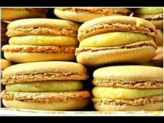 Les Macarons - Recette PRO facile à réaliser  (l'orange)