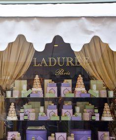 Laduree NYC & Paris... the perfect French Macaron