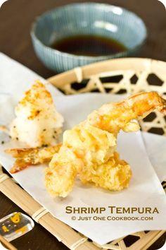 [JAPAN] Shrimp Tempura | Easy Japanese Recipes at JustOneCookbook.com