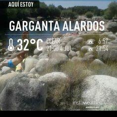 1 foto x d a madrigaldelavera picoftheday for Piscinas naturales sierra de gredos