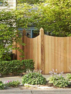 Cedar Fence - Curb Appeal Across the Country on HGTV