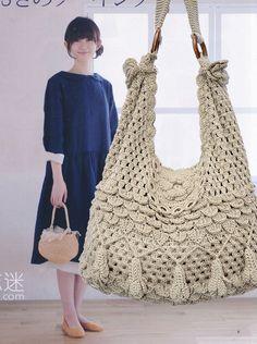 森女复古手工编织包