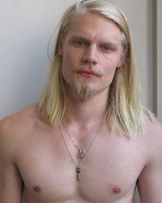 ... beard, blond man
