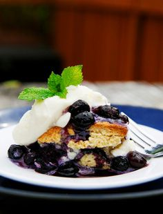 Blueberry Shortcakes By Savory Sweet Life - Easy Recipes from an Everyday Home Cook