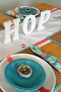 :: Easter table ::