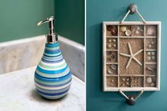 Wall Decor Idea for Bathroom by InDesign Interiors.
