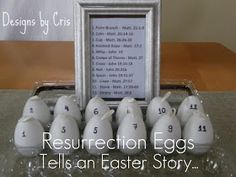 Designs by Cris: Resurrection Easter Eggs