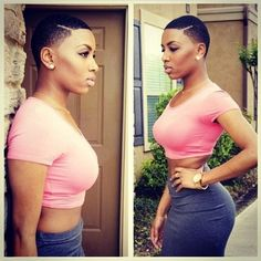 Wow, Short Hair Suits Her! @thecutlife - http://www.blackhairinformation.com/community/hairstyle-gallery/natural-hairstyles/wow-short-hair-suits-thecutlife/