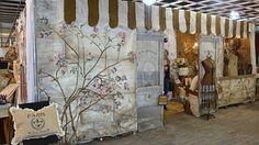 paris inspired craft booth