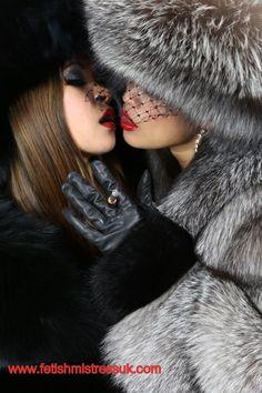 Make sure You Pleasure Me Correctly With My Beautiful Soft Fox Fur's, Or Else!!! furs, fox fur, fur 7etc, fur fashion, furfetish, foxes, fur fetish, fur fav, red lipstick