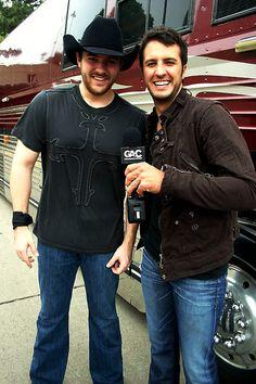 Chris Young and Luke Bryan