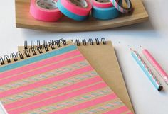 DIY | BLOCK NOTES por Anabella (My Washi Tape)