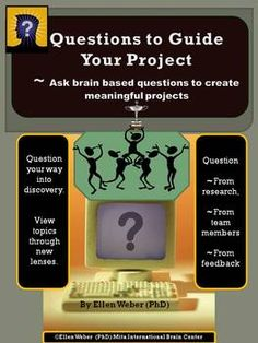 "have you desired ""must-have"" helps that produce quality team work?  Brain based questions in this product will guide your middle, secondary, and college students to discover more through questions designed as team tools.  These unique questions prompt team members to step back, see their project through different lenses, and apply current brain facts to improve their work together."