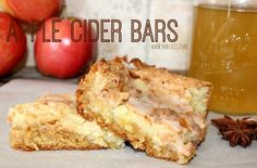 Apple Cider Bars!