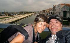 Recorrido accesible para silla de ruedas por la localidad de Aveiro, conocida como la Venecia portuguesa