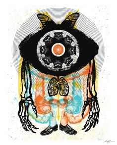 SIMIAN CYCLOPIA from Aesthetic Apparatus, self stick poster 28x35