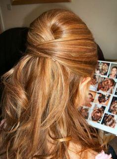 Blythe Bridesmaid hair