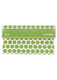 3 Green Moms Green Polka Dot Reusable Snack Bag, 1.0 Each , Bag #vitaminshoppe #greenforgreen