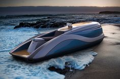 Strand Craft's V8 Wet Rod is a Luxurious Personal Water Craft