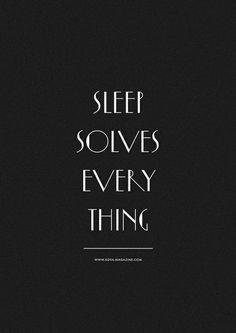 sleep.