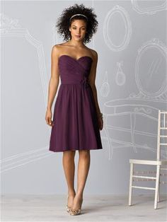 How about this bridesmaid dress?