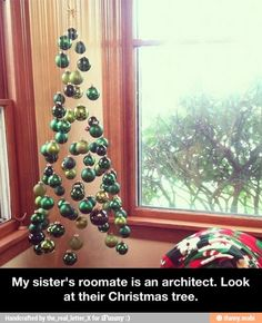 Cool Christmas tree idea