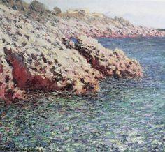 The Mediteranean (Cap d'Antibes), 1888, Claude Monet