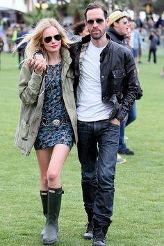 Kate Bosworth Celebs At Festivals Fashion 2012 - Reading Festival & Celebrity Pics (Glamour.com UK)