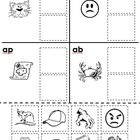This is a sample page from the set of 20 Rhyming Cut and Paste Worksheets.  These cut and paste activities will help you foster phonological awaren...