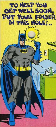 """I'm not falling for that again """"Batman"""""""