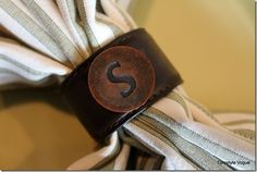 DIY Napkin Rings From An Old Belt (14)