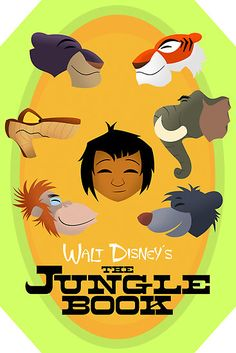 Walt Disney's The Jungle Book by Sam Novak ...one of disney's BEST adventure movies