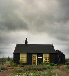 Cottage in Dungeness, Kent, England