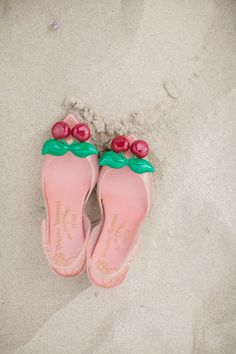 Vivienne Westwood cherry shoes. Swoon! Photography: erin jean photography - erinjeanphoto.com