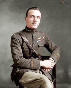 Captain Edward Vernon Rickenbacker was a WW1 American ace fighter pilot with the 94th Aero Squadron in France, claiming his first victory on the 29th April 1918.