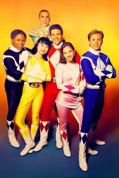 YES! Power Rangers!