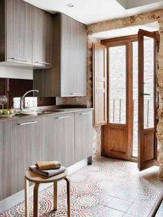 Cocinas rusticas on pinterest rustic kitchens pottery for Cocinas integrales rusticas