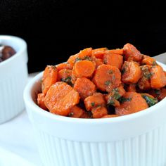 Moroccan Carrot Salad by thestayathomechef: Serve hot or cold. #Carrots #Moroccan
