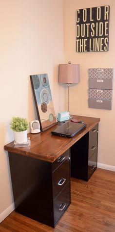 A DIY Desk!