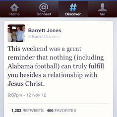 Barrett Jones ~ Alabama football player this is wonderful!