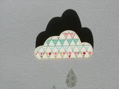 Cloud 2 Washi Tape Brooch par kotoridesign sur Etsy clouds, brooches, tape brooch, tape deco, cloudi raini, tapes, washi tape, mask tape