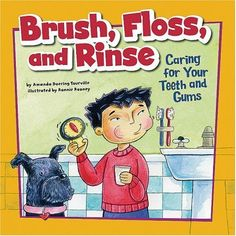 Books for kids about taking care of their teeth @Babblevoices