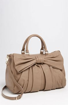RED Valentino 'Bow' Leather Bowler Bag | #Nordstrom #falltrends