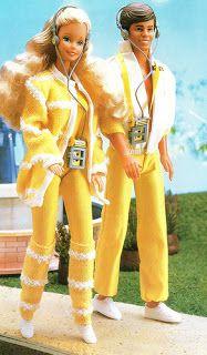 Sport Walkman Barbie 80s was my second Barbie doll  #barbie #80s #doll #walkman