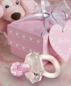 Free shipping Wedding Favor 100pcs/lot crystal gift of Crystal Pink pacifier Baby Shower favors for wedding gift-in Event & Party Supplies from Home & Garden on Aliexpress.com