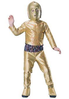 Kids C3PO Costume - Emma