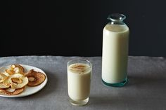 Moroccan-Style Almond Milk with Orange Blossom Water & Cinnamon recipe on Food52.com