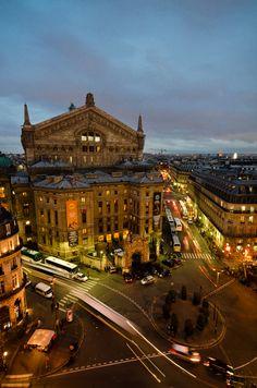 Behind the Opera, Paris
