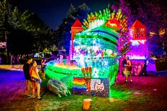 """Sziget 2014: In the Hungarian language, Sziget means island, but in Budapest, Sziget means a festival best described as """"an electronically amplified, warped amusement park."""""""