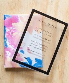 Tanya Taylor NYFW Invites